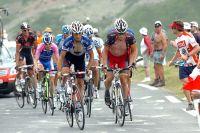 Armstrong et Barredo mène le groupe de tête dans l'Aubisque