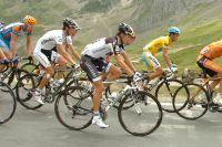 Il n y a pas eu de duel entre Contador et Schleck dans le Tourmalet