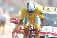 Alberto Contador en route vers son troisième titre sur le Tour de France