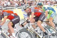Lance Armstrong sur les Champs-Elysées