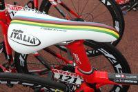 La selle de Champion du Monde Cadel Evans