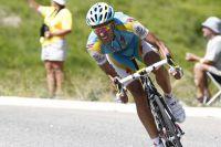Alberto Contador fonce vers le Maillot Jaune