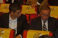 Johan Le Bon et Bernard Hinault