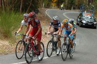 Cinq hommes en tête vers Stirling : Clarke, Kroon, Voigt, Bobridge et Paterski