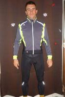 La veste et le cuissard thermiques Anakonda de Sportful