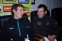 Andy Schleck et Mark Cavendish ont commencé leur saison dans la douleur