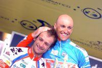 Stefano Garzelli prive Michele Scarponi de la victoire au dernier jour de course de Tirreno-Adriatico