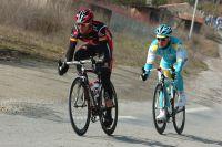 Alejandro Valverde et Alexandre Vinokourov embarqués dans une folle escapade