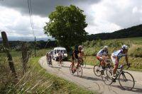 Les cyclosportifs profitent de la très bonne organisation du Tour de l'Ain cyclo