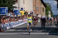 Romain Feillu gagne avec une large avance à Trévoux