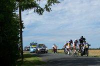 Brice Feillu et Romain Bacon échappés sur les routes de Charente