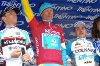 Le podium du Tour du Trentin