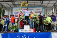 Le podium du Tour du Val d'Orge 2010