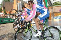 Alessandro Petacchi se prépare