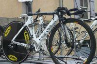 Le vélo de contre-la-montre Canyon des Omega Pharma-Lotto