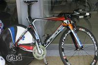 Le vélo de contre-la-montre Lapierre de Française des Jeux