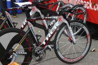 Le vélo de contre-la-montre Trek de RadioShack