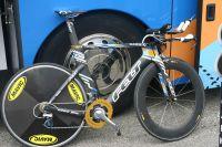 Le vélo de contre-la-montre Felt de Garmin-Transitions