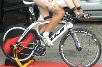 Le vélo de contre-la-montre Fuji de Footon-Servetto