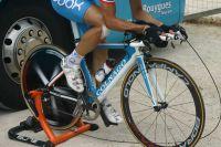 Le vélo de contre-la-montre Colnago de Bbox Bouygues Telecom