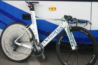 Le vélo de contre-la-montre de Jérôme Coppel et des Saur-Sojasun