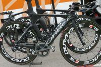 Le vélo de contre-la-montre Orbea d'Euskaltel-Euskadi