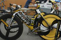 Le vélo de contre-la-montre Scott de HTC-Columbia