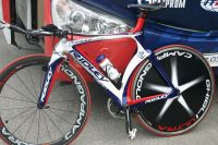 Le vélo de contre-la-montre Ridley du Team Katusha
