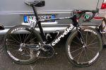 Vélo Cervélo de l'équipe Cervélo TestTeam