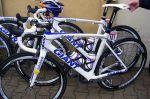 Vélo Giant de l'équipe Rabobank