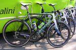 Vélo Cannondale de l'équipe Liquigas-Doimo