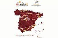 La carte du 65ème Tour d'Espagne
