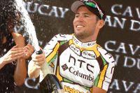 Champagne pour Cavendish