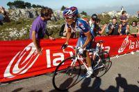 Joaquin Rodriguez dans les pentes de Pena Cabarga, encore au programme de la Vuelta 2011