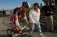 Marzio Bruseghin blessé après son implication dans la chute : il cède 17 minutes