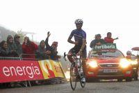 Carlos Barredo franchit la ligne en vainqueur