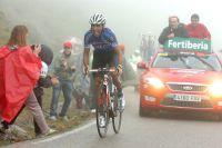 Carlos Barredo s'en va gagner l'étape des Lacs de Covadonga