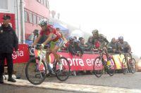 Vincenzo Nibali préserve l'essentiel sur la ligne d'arrivée