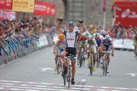 A deux semaines du Mondial, Philippe Gilbert remporte l'étape du Tour d'Espagne s'approchant au mieux de ce qui l'attendra à Geelong