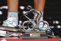 Le trophée de vainqueur d'étape sur la Vuelta