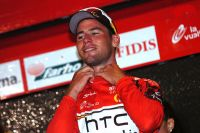 Mark Cavendish enfile le premier Maillot Rouge de leader