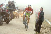 Vincenzo Nibali se bat pour maintenir son avance au classement général