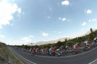 Le peloton du Tour d'Espagne
