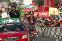 David Lopez remporte la 9ème étape de la Vuelta