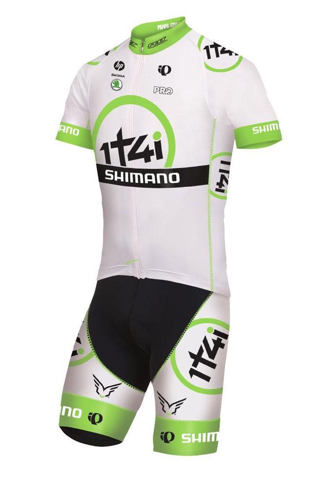 Le maillot provisoire du projet 1t4i