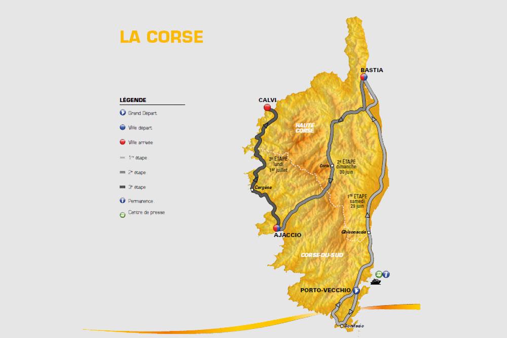 Le Grand Départ du Tour de France 2013 en Corse