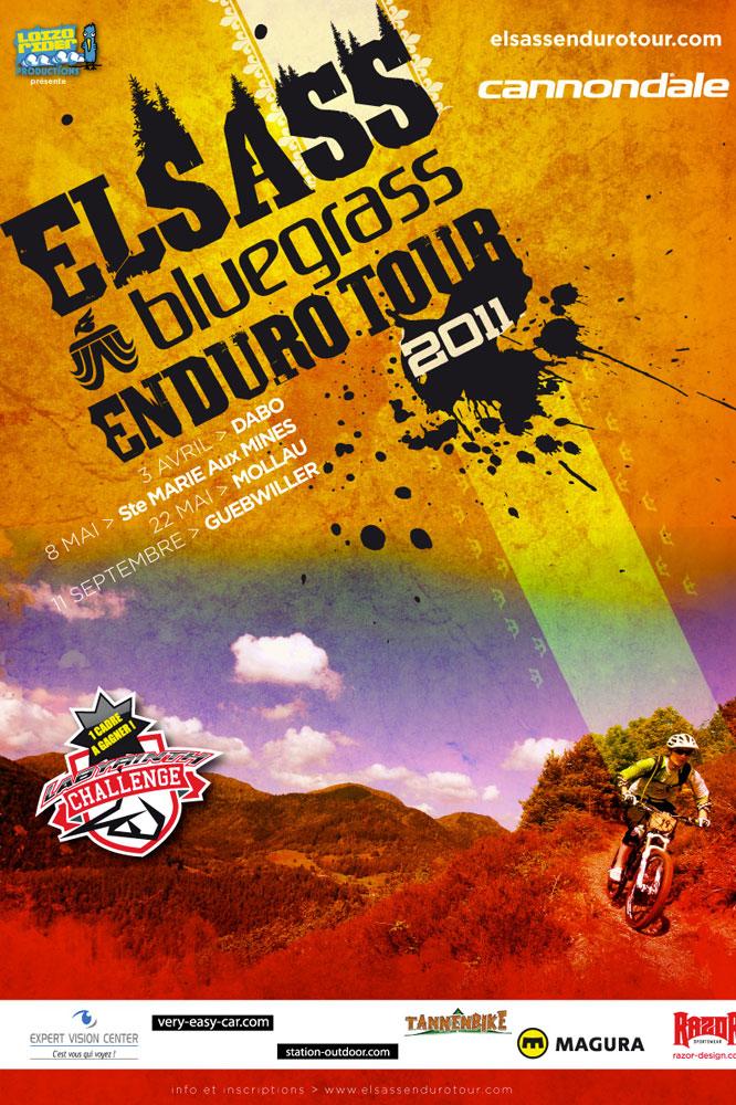 L'affiche de l'Elsass Enduro Tour