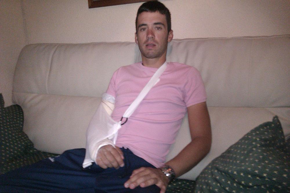 fracture olécrane gauche