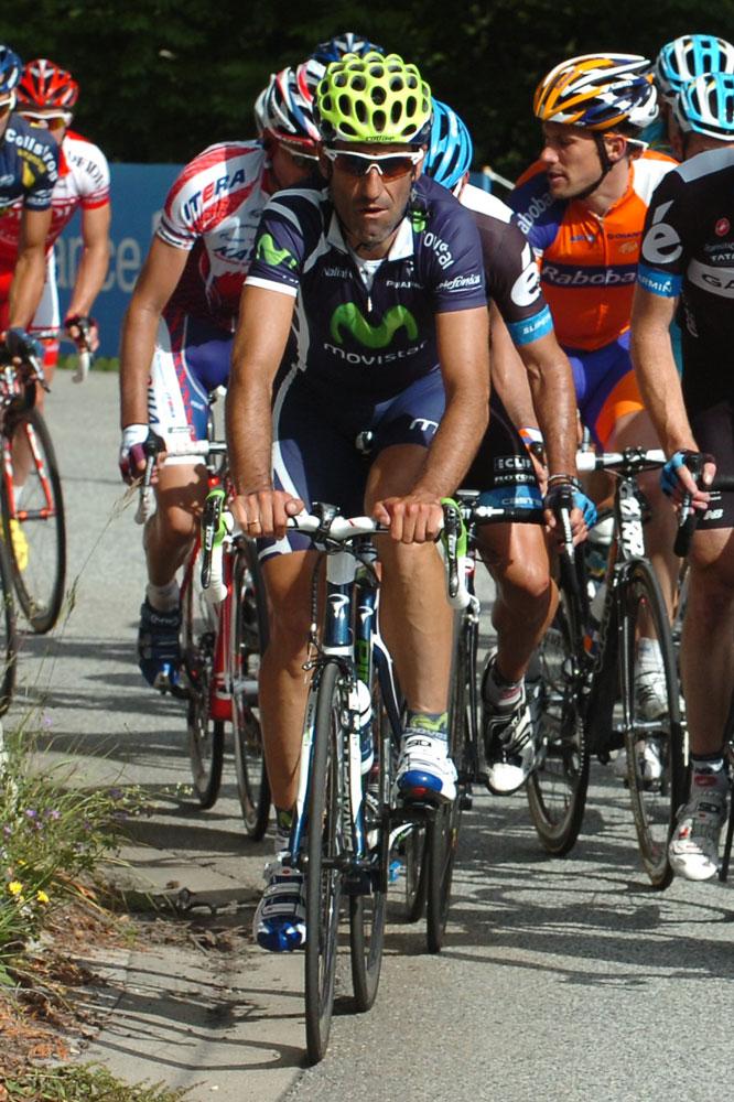 José-Vicente Garcia-Acosta dans son rôle d'équipier fidèle