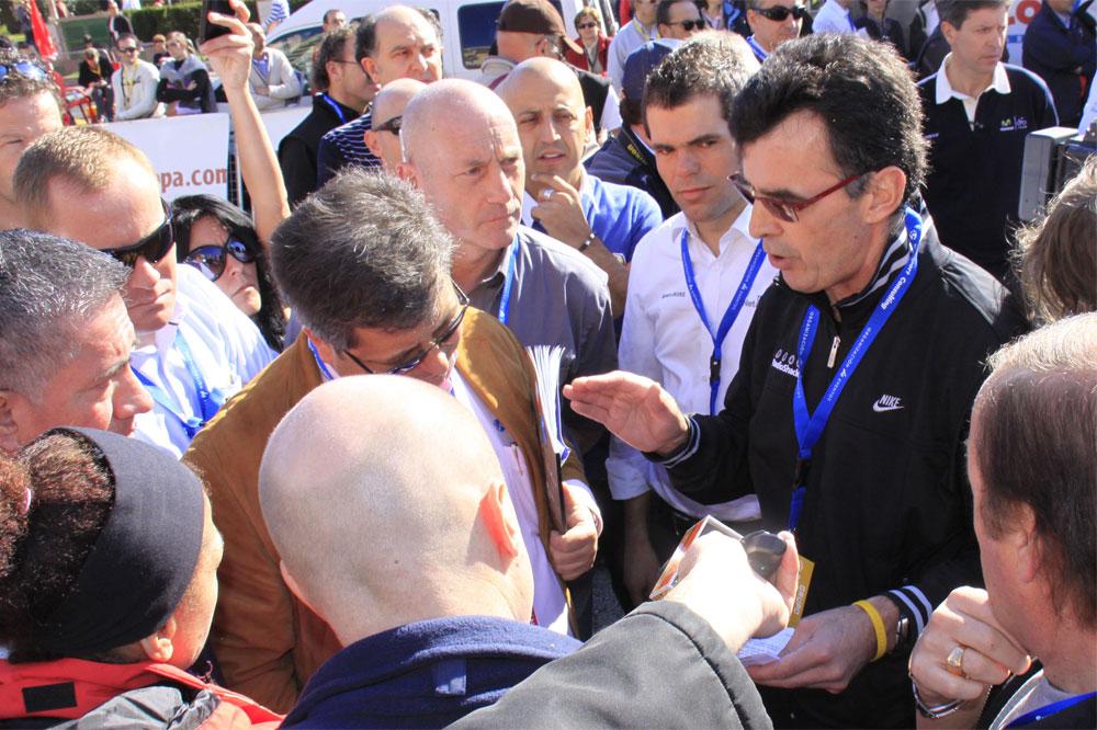 Alain Gallopin expose les revendications des directeurs sportifs